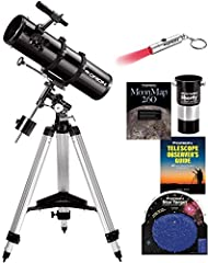 """This """"ST"""", or """"Short Tube"""", version of the SpaceProbe 130 reflector is indeed more compact than the standard model. The 130ST reflector optical tube measures 24"""" long compared to 33"""" on the standard 130. The focal length of the ST's 130mm (5...."""