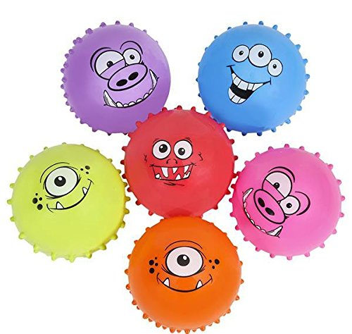 DollarItemDirect 4'' Monster KNOBBY Ball, Case of 9 by DollarItemDirect (Image #1)