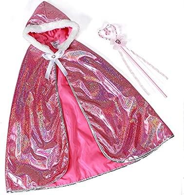 Tacobear Princesa Aurora Disfraz Niña Princesa Capucha con ...