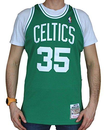 Mitchell & Ness Reggie Lewis Boston Celtics Authentic 1987-88 Green NBA ()