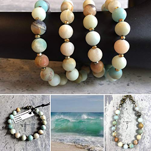 Collection Jewelstone - Genuine Amazonite Stone Bracelet