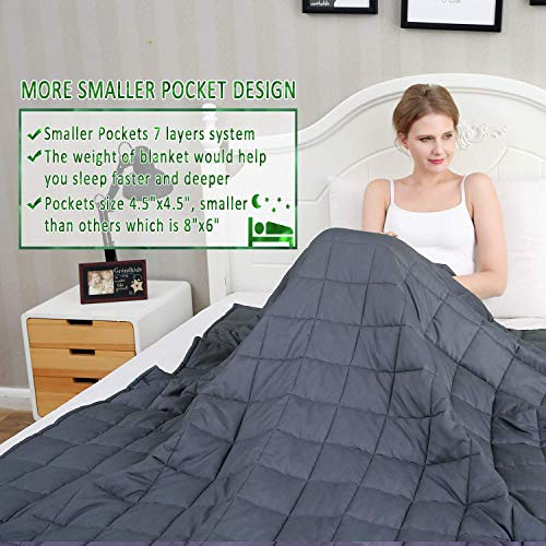 Amy Garden Weighted Blanket Pockets Blanket | Cotton Blankets Adults