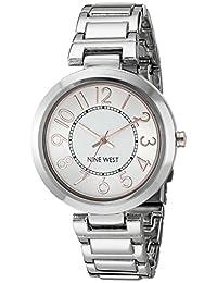 Nine West NW1893SVRT Reloj de Diseñador para Mujer