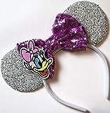 CLGIFT Daisy Minnie ears, Daisy Duck Minnie mouse