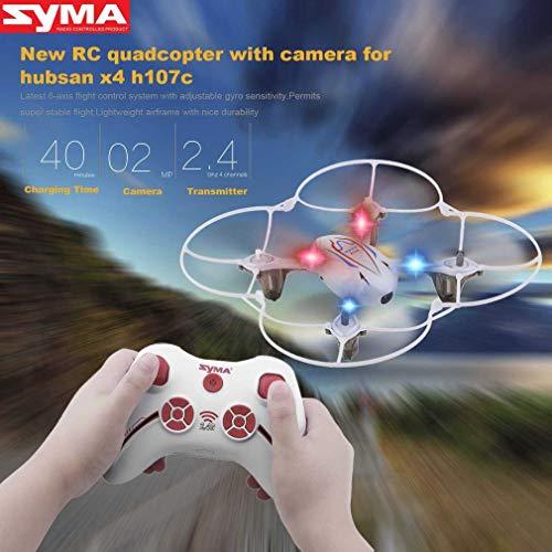 Juweishangmao 2.4G 4CH 6-Axis RC Quadcoipter with HD 2.0MP Camera for Syma X11C-White by Juweishangmao (Image #4)