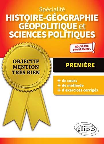 Spécialité histoire-géographie, géopolitique et sciences politiques 1re
