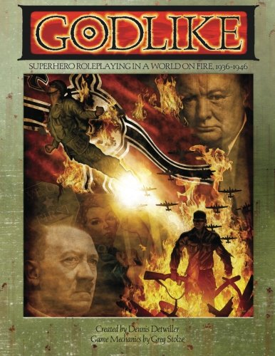 - Godlike: Superhero Roleplaying in a World on Fire, 1936-1946 (ARC1009)