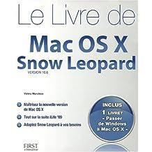 Livre de mac os x snow leopard + livret