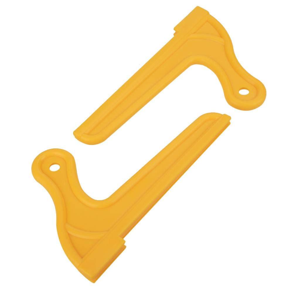 Varillas de Seguridad de Sierra de Madera para enrutador de Cuchilla de Trabajo de Mesa de carpinter/ía Tonysa 2 Piezas de Varilla de Empuje Tipo V para Sierra de Mesa