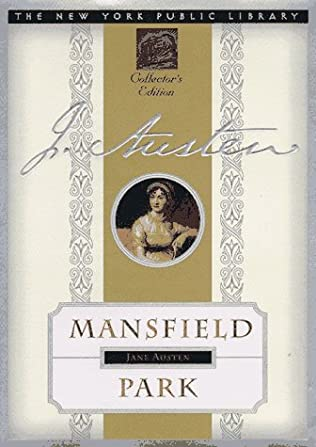 book cover of Mansfield Park
