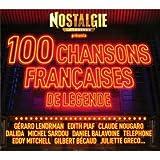 Nostalgie : Les 100 Plus Belles Chansons Françaises (5 CD)