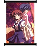 "Clannad Anime Fabric Wall Scroll Poster (16""x24"") Inches"