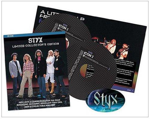 Icon Series: Styx 'ZinePak (2CD) (Styx Icon)