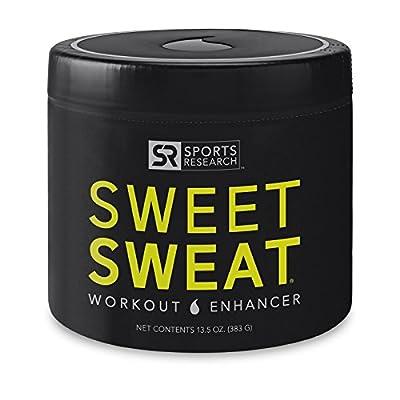 Sweet Sweat 'Workout Enhancing' Gel   Helps increase circulation, sweating and motivation during exercise   'XL' Jar - 13.5oz