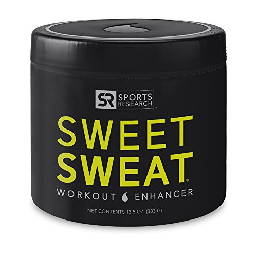 Sweet Sweat 'Workout Enhancing' Gel | Helps Increase Circulation, Sweating and Motivation During Exercise | 'XL' Jar - 13.5oz
