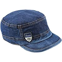 Krystle Men's Denim Cap (Blue, Free Size)