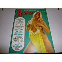 """Ace Busty Adult Magazine """"To Miss Nude Universe From Miss America"""" Vol.12 #6 September 1970"""