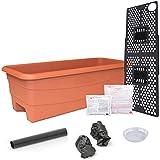 EarthBOX 80655 Junior Garden Kit, Organic, Terra Cotta