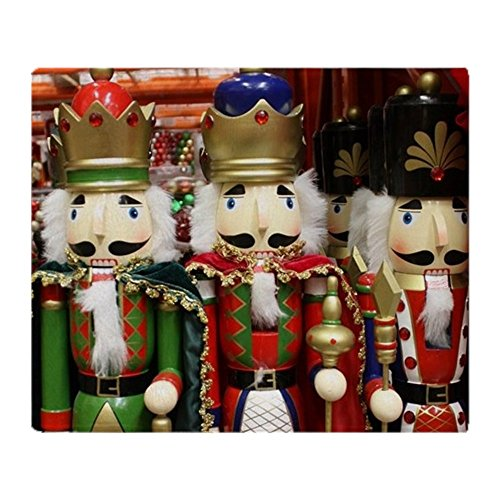 CafePress Nutcracker Soldiers Blanket Stadium