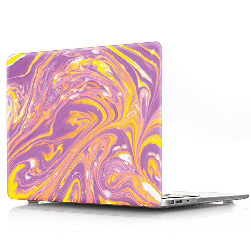 Macbook Pro 13 inch Case,Sunway [Marble Series] Basic Soft-Touch Series Plastic Hard Case Cover for Macbook Pro 13
