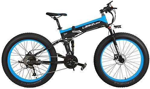 T750Plus 27 Speed 26*4.0 Fat bicicleta eléctrica plegable 500W 48V ...