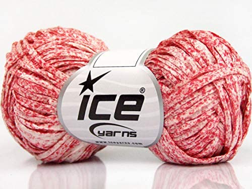Lote de 8 madejas de algodón con estampado de hielo (100% algodón ...