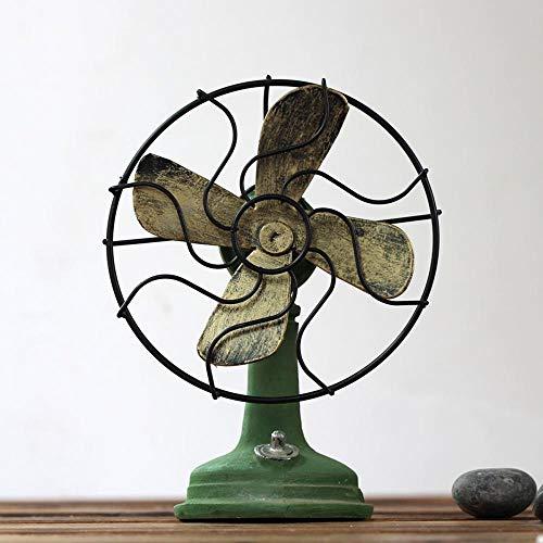 kaige Table Decoration Vintage Resin Vintage Fan Decoration Size: 16.513cm