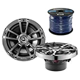 Infinity Subwoofers Best Deals - 2X Infinity Reference 622m 6.5-Inch 225-Watt High-Performance 2-Way Weather-Proof Marine Boat Power Sport Vehicles 2-Way Coaxial Speakers