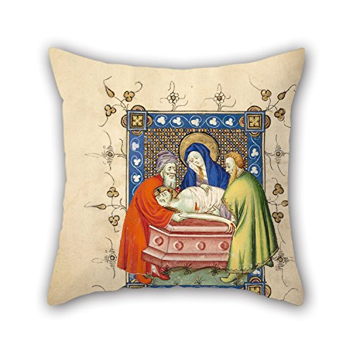 [Loveloveu Oil Painting Masters Of Dirc Van Delf (Dutch, Active About 1400 - About 1410) - The Entombment Cushion Cases ,best For Dance Room,him,kids Girls,study Room,kids,car 18 X 18 Inches / 45] (Punk Rocker Girl Costume Ideas)