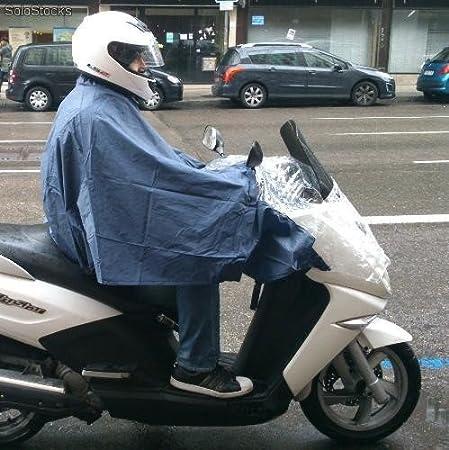 Regenumhang fü r Motorrad Talla Ú nica blau Barmanbrand P1B