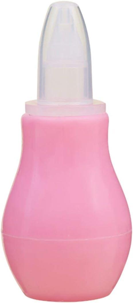 Manual del bebé Aspirador nasal de silicona Aspirador nasal Bomba ...