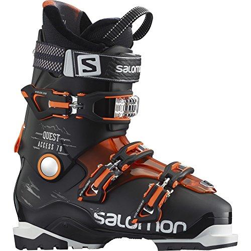 Salomon Quest Access 70 Ski Boot Men's Black/Orange Translucent/Fluorescent Orange 25.5