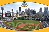 Pittsburgh Pirates PNC Park Poster 34 x 22in