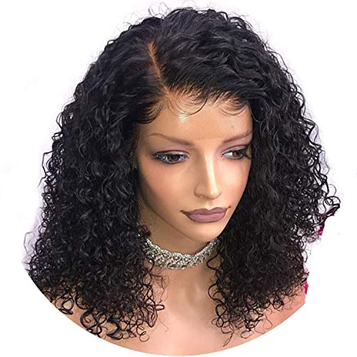 can't be satisfied 360 Lace Frontal Wig Curly Lace Front Human Hair Wigs For Black Women 150%/180%/250% Density PrePlucked With Baby -