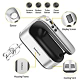 Hand Mixer Electric with Storage Case, 450W 9-Speed