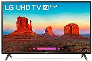 LG 49UK6300PUE 49-Inch 4K Ultra HD Smart LED TV (2018 Model)