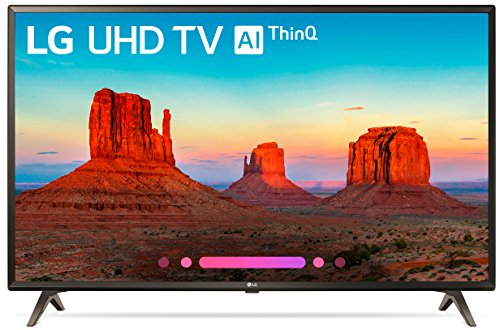 LG Electronics 49UK6300PUE 49-Inch 4K Ultra HD Smart LED TV (2018 Model)]()