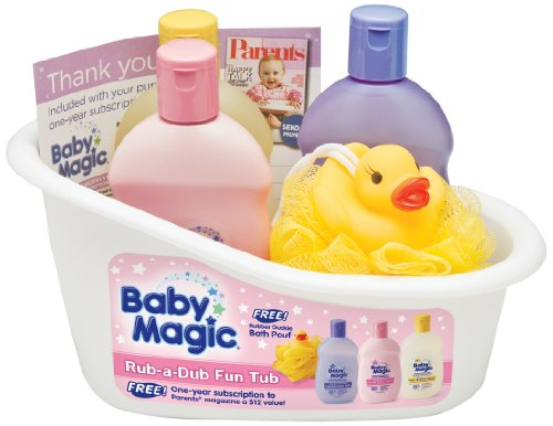 Baby Magic Rub-a-Dub Fun Tub Gift Set