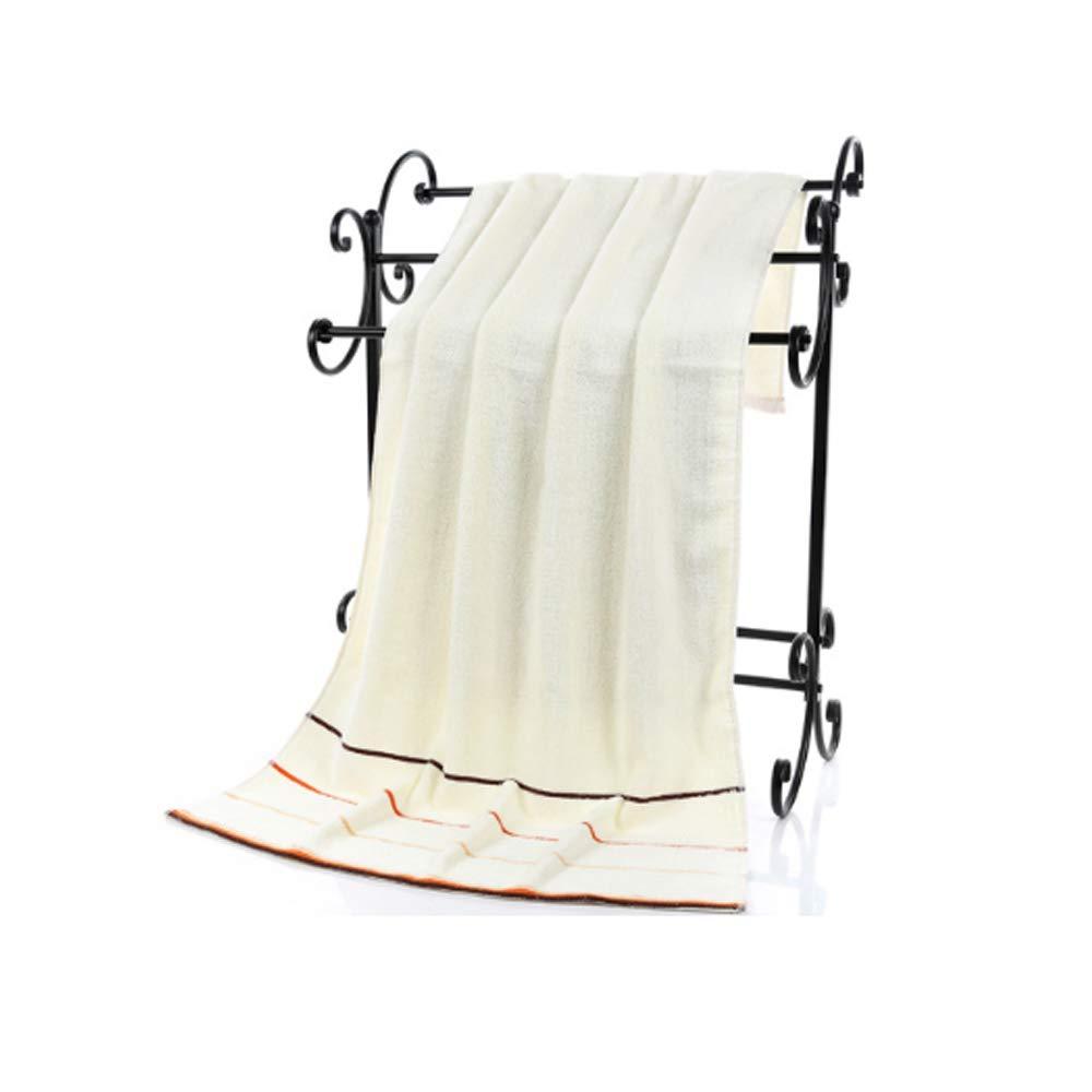 CSJY Ensemble de Serviettes en Coton /épais Doux et Confortable avec 2X Serviettes de diff/érentes Tailles 1X Serviette de Bain Vert