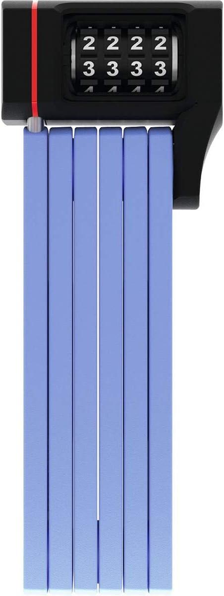 Abus 5700C//80 BU SH Candado Plegable Unisex Adulto 80 cm