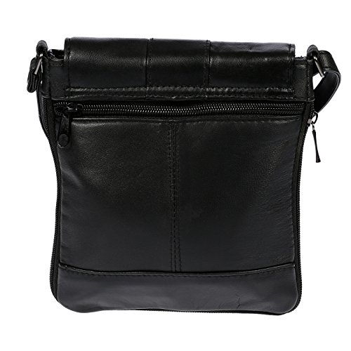 Men's Shoulder Wipperman Women's Leather Bag Nappa Real Christian Crossover wvq8Izd