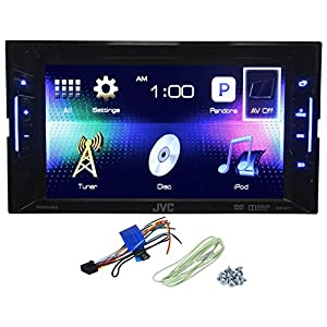 "JVC KW-V11 Double Din Car DVD/iPhone/Pandora Radio Player Receiver 6.2"" Monitor"