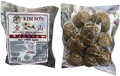 Kim Son Beef and Beef Tendon Meatballs Bo Vien Gan 潮州特别牛筋丸 10oz - total of 8 units