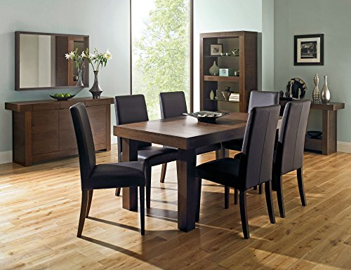 "Coastlink Kita Walnut Extension Dining Table (63"" to 79"")"
