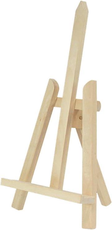 Amazinggirl Caballete de madera de haya resistente para pintar ...
