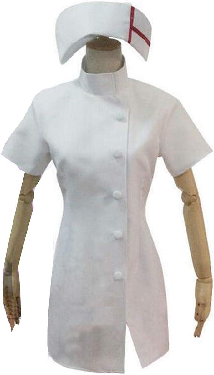 Danganronpa 3 Side Despair Mikan Tsumiki White Nurse Cosplay Costume ////