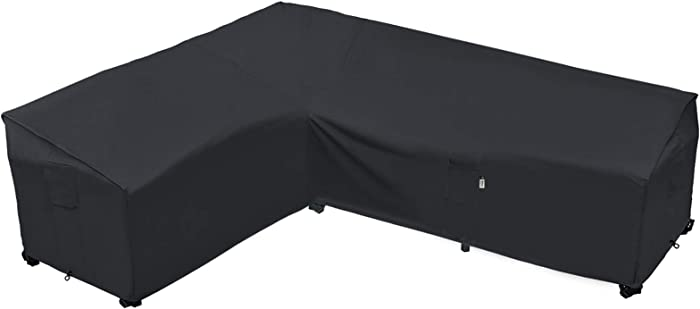 Heavy Duty Outdoor Sectional Sofa Cover, 85