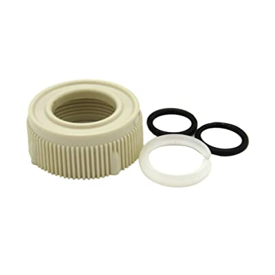 Dura Faucet DF-RK510-BQ RV Faucet Spout Nut and Rings Replacement Kit (Bisque Parchment): Automotive