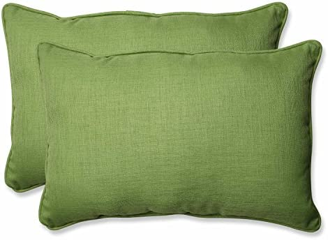 Pillow Perfect Outdoor Indoor Rave Lawn Over-Sized Rectangular Throw Pillow Set of 2