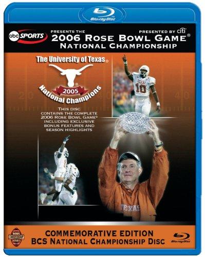 2006 Rose Bowl National Championship BD (Texas Longhorns Rose)